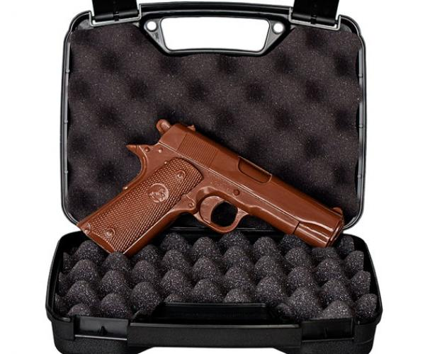 Mini Chocolate Gun with Case