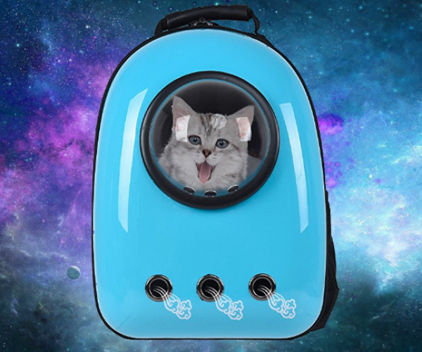 Astronaut Cat Carrier