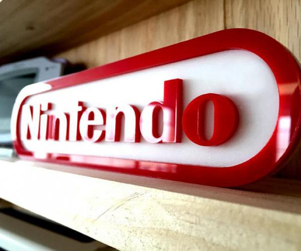 Nintendo Decorative Sign