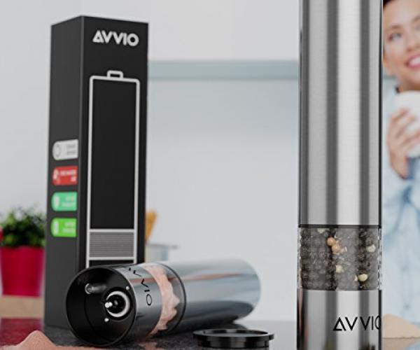 Avvio Salt & Pepper Electric Grinder