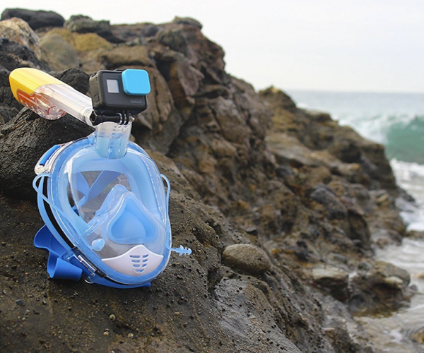 Orsen Snorkel Mask with Camera Mount