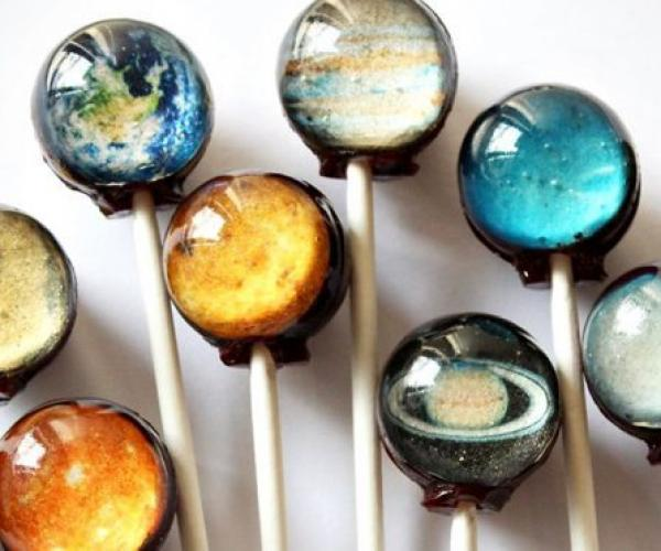 Outer Space Lollipop Candy
