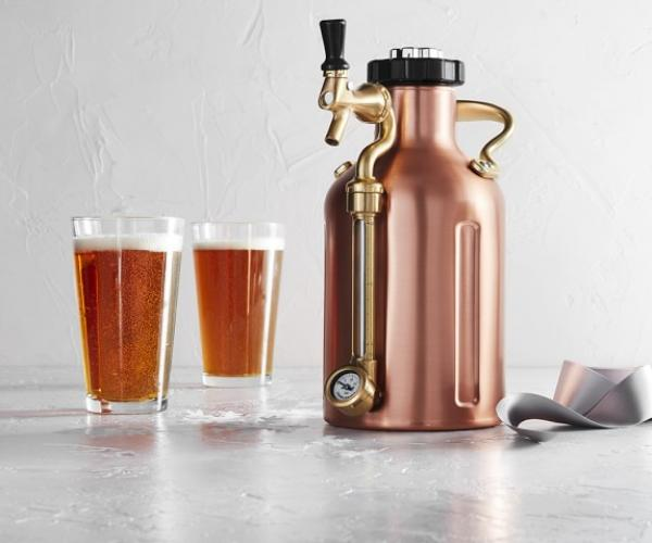 uKeg 64 Pressurized Beer Growler