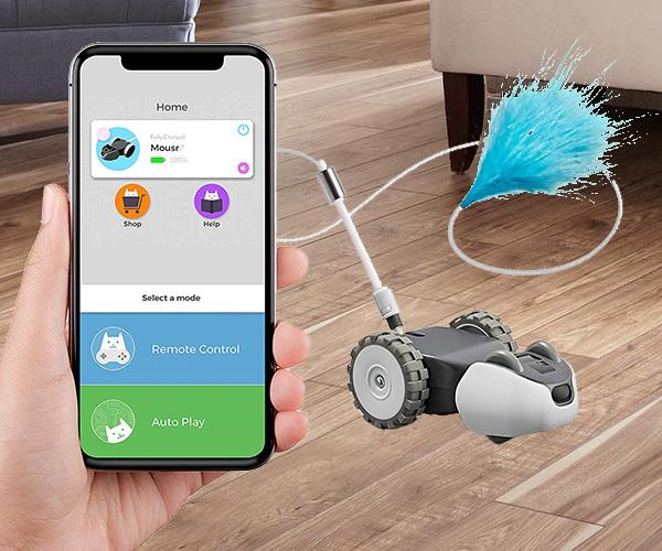 Petronics Mouse Robotic Cat Toy
