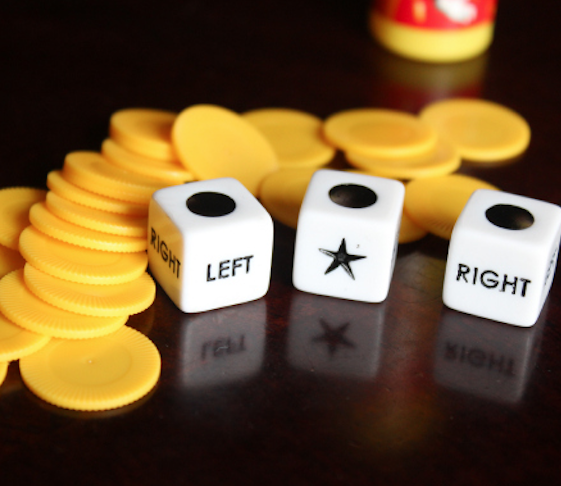 Left Right Center Dice Game