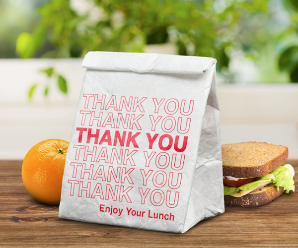 Thank You Lunch Bag