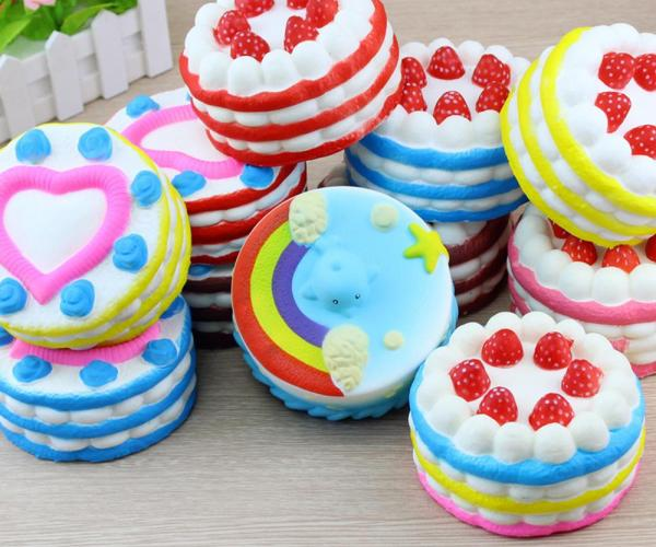 Squishy Cake Stress Relief Toy