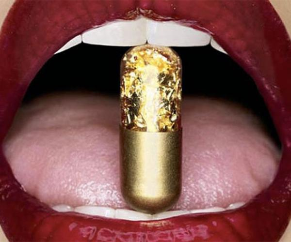 Golden Poop Pills