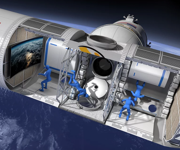 Aurora Station Luxury Space Hotel