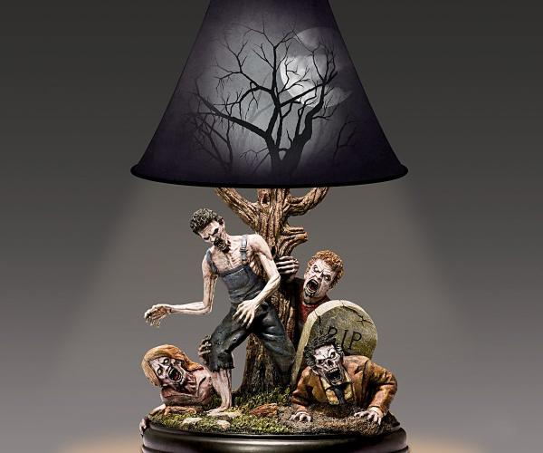 Night of the Dead Zombie Lamp