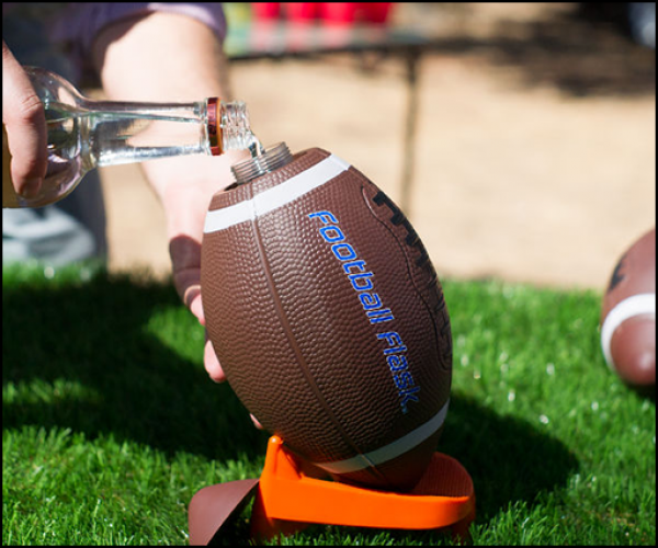 The Football Flask