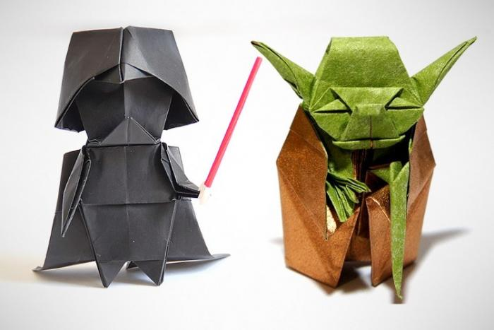 Star Wars Origami - A list of online diagrams for folding your own models | 467x700