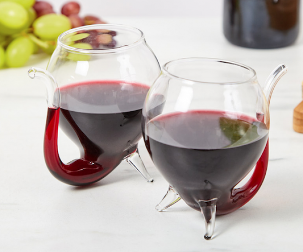 Sippable Wine Glasses